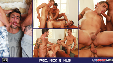 Nils Angelson, Nick Spears & Iago Torres