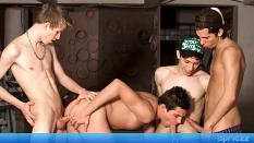 Trainee orgy
