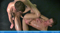 Twink Cocks-Up Oil-Down Fuck Session